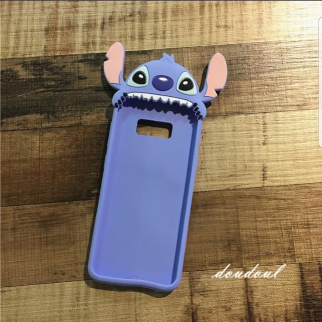 size 40 a25fd f1da2 Samsung Galaxy S8 and S8 Plus Disney Stitch Case