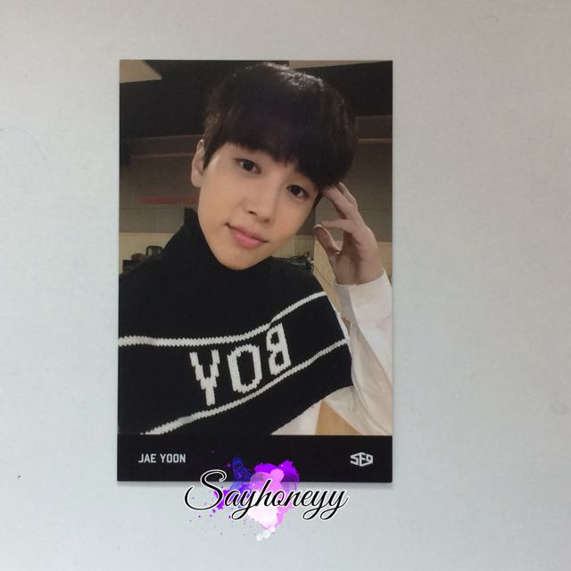 SF9 Jaeyoon Surprise Festival photocard