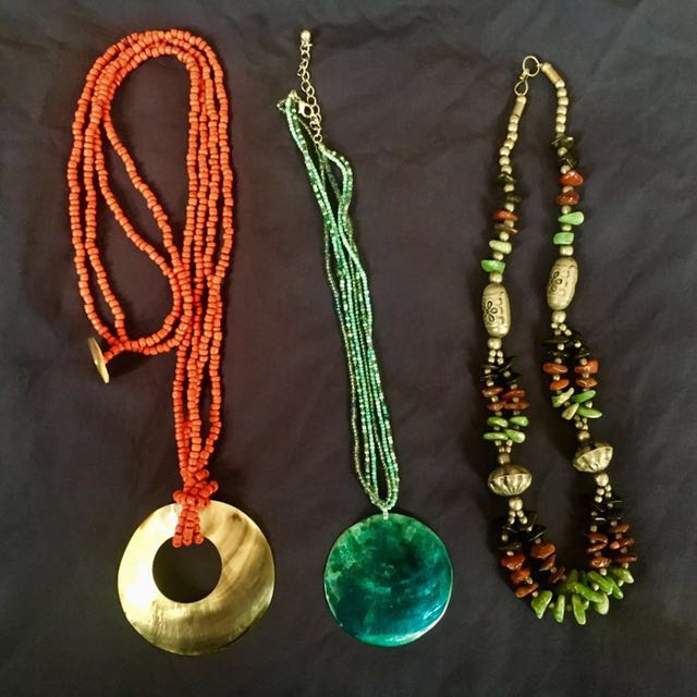 Shell/gemstone Necklaces