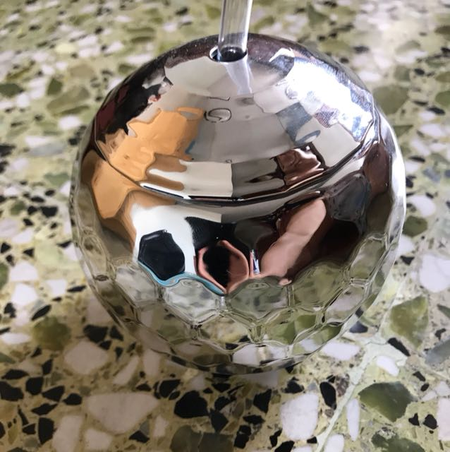 Sparkly disco ball container/drink