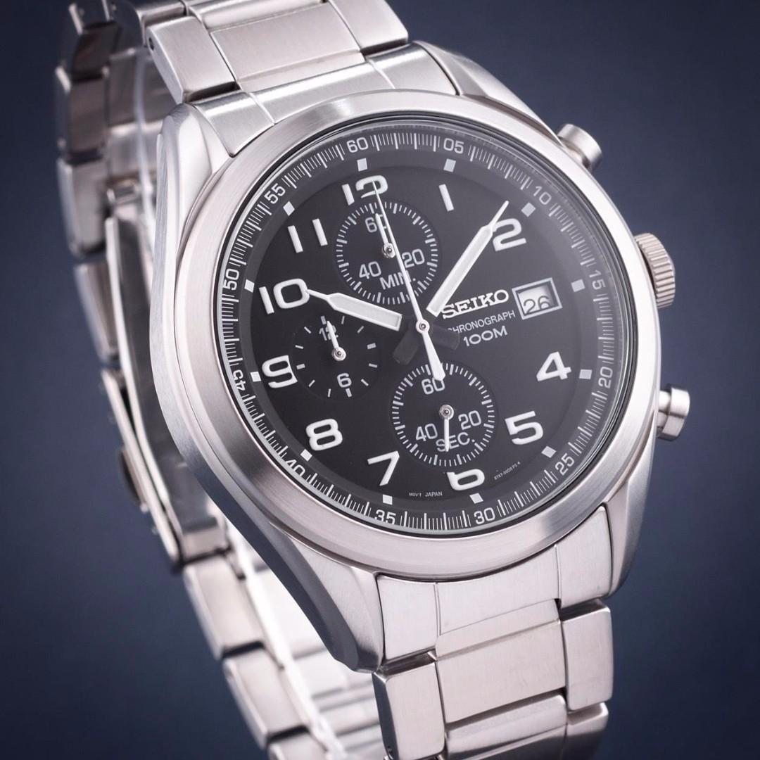Quartz Seiko Ssb269p1 Chronograph WatchStainless Neo Sports yPvNn08wmO
