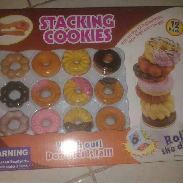 Stacking cookies