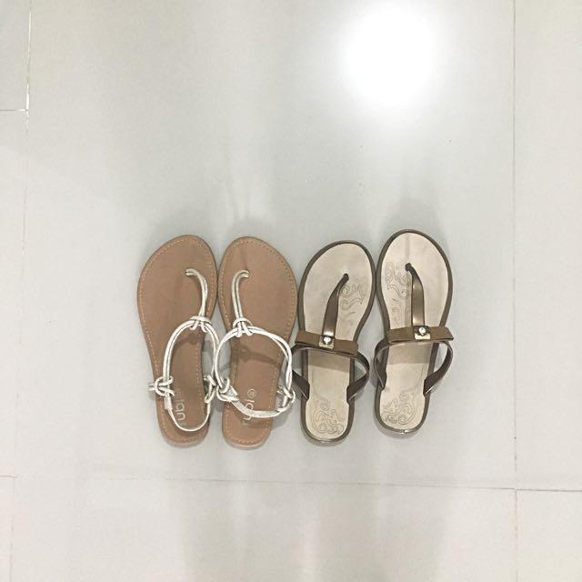 Strap Sandals Slippers Bundle Sale
