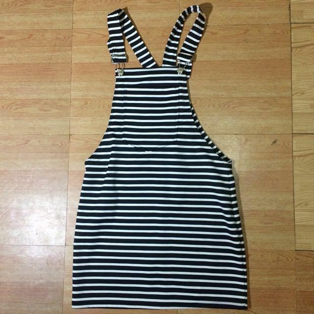 Striped Jump Skirt