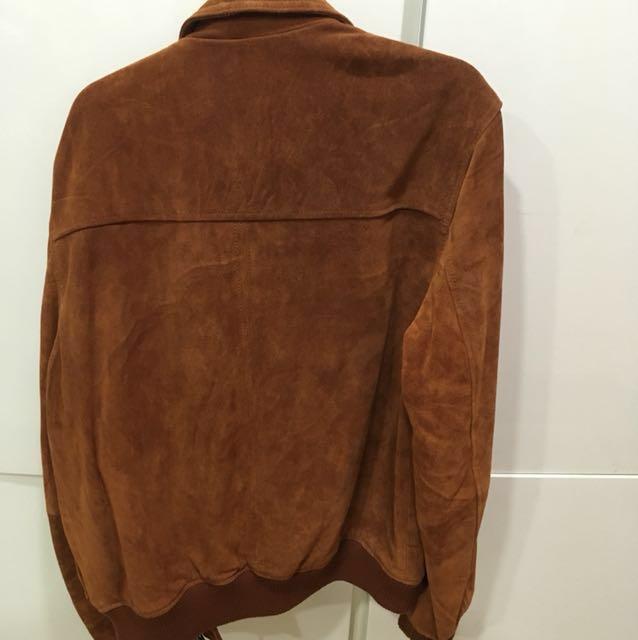 Suede Harrington Leather jacket