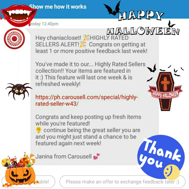 Thank you Carousell! 😘💖