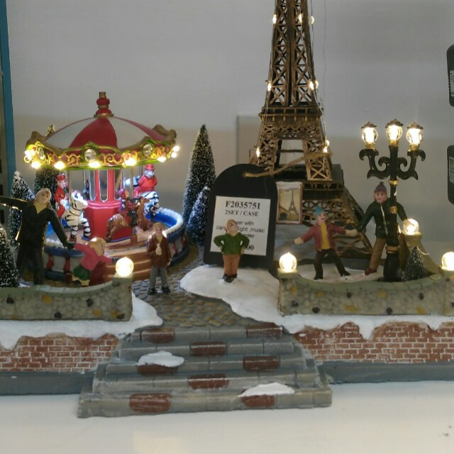 Tower w/ carousel