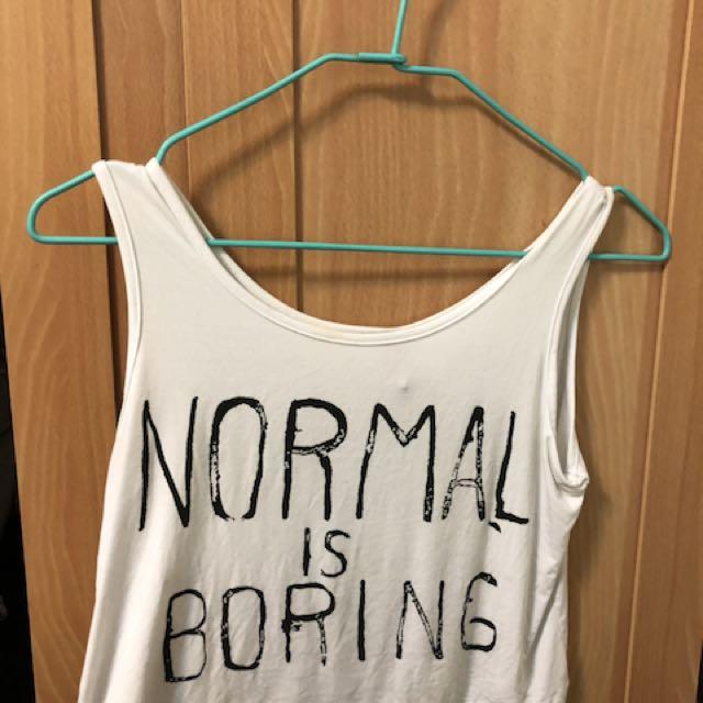 寬鬆短版T-shirt