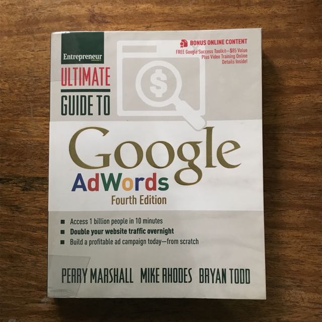 ultimate guide to google adwords books books on carousell rh ph carousell com ultimate guide to google adwords 5th edition pdf ultimate guide to google adwords download
