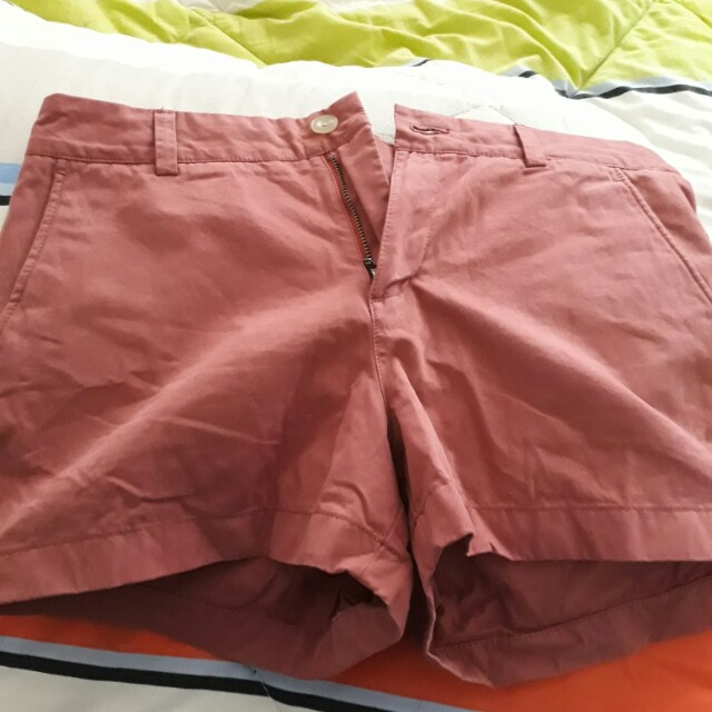 UNIQLO Red shorts for women