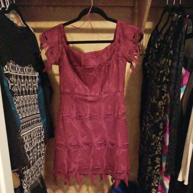 UO ASTR The Label Lace Dress