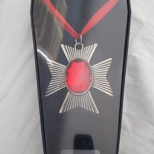 Vampire cross costume jewelry