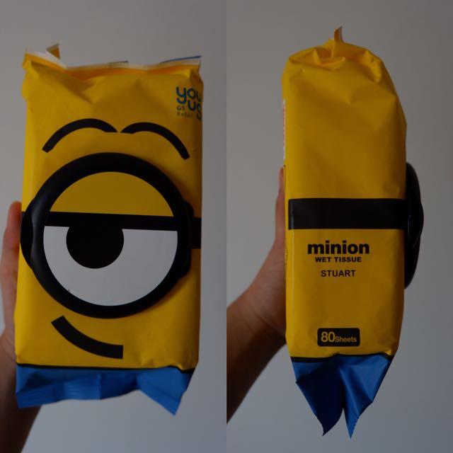 Wet Tissue Minion
