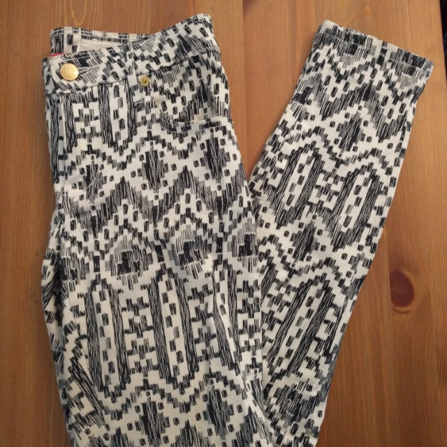 Womens size small sass and bide pantas