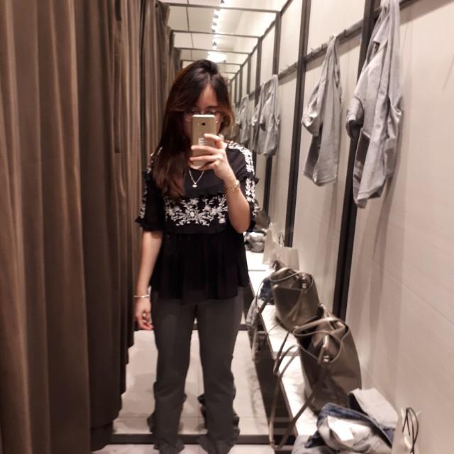 Xara trouser grey size xs