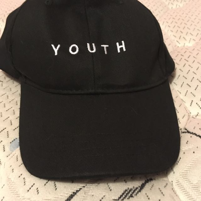 Youth black hat