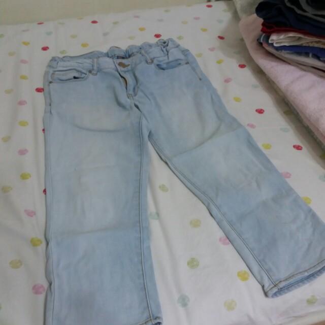 ⚠限時特價!!ZARA水洗7分牛仔褲#我有ZARA要賣#