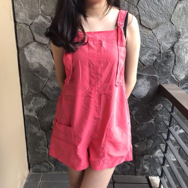Zara Pink Playsuit