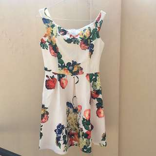 Chocochips Flower Dress