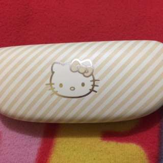 Authentic hello kitty eyeglass case