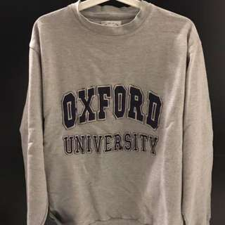 oversize oxford pullover