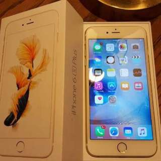 Iphone 6 plus gold 128 GB brand new 3 months warranty