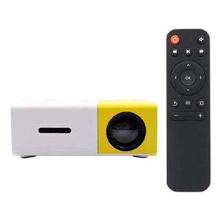YG300 Portable Led projector