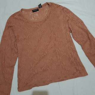 Laced Pullover
