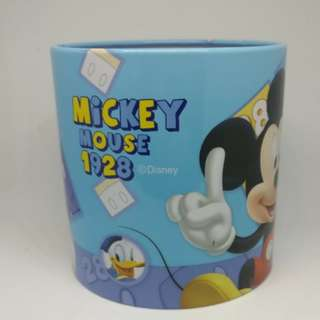 Official Disney Mickey Mouse Round Storage Box Merchandise #MidJan55