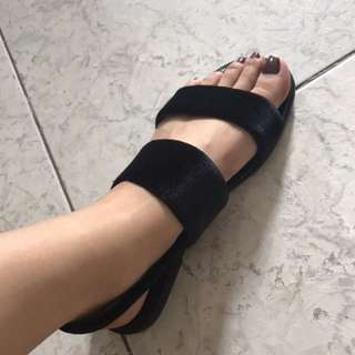 Brand new suede flats from Singapore