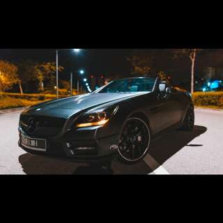 Mercedes SLK 200 AMG for rent