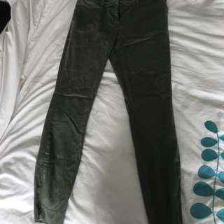 Glassons green straight formal pants