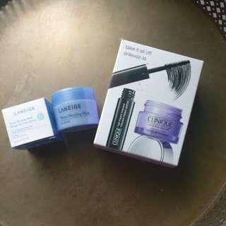 CLINIQUE + LANIEGE SKINCARE BUNDLE