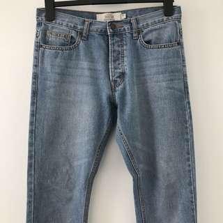 TOPMAN Vintage Slim Jeans