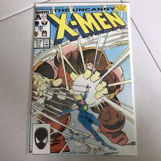 [Autographed] Marvel Comics The Uncanny X-men #217 Signed Walter Simonson