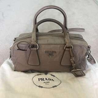Authentic Prada Purse With Vintage Look