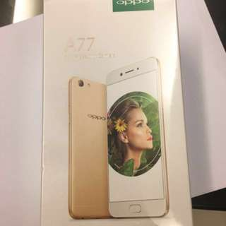 <SOLD>OPPO A77 gold
