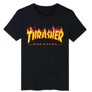*FREE SHIPPING! Thrasher Cotton Tee