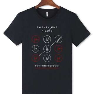 *FREE SHIPPING! Twenty One Pilots Cotton Tee