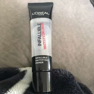NEW * infallible Mattifying Primer was $35