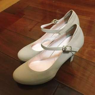 🚚 (韓國購入)正韓氣質高跟鞋 7公分
