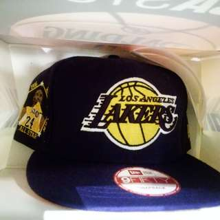New Era Kobe Bryant retirement cap