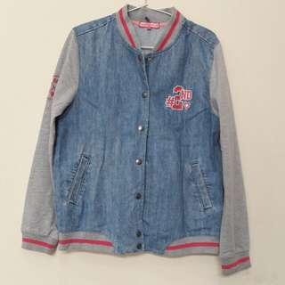 Jaket Jeans NINETY DEGREES Size M