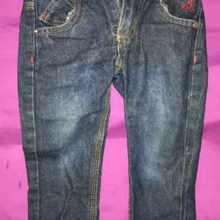 Unisex Polo Jeans - up to 2y