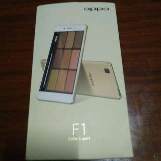 original complete set of box,manuals and pin for oppo f1