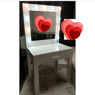 Vanity Mirror w/ Table