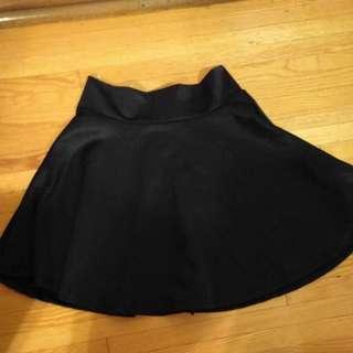 BN black mini skirt (S)