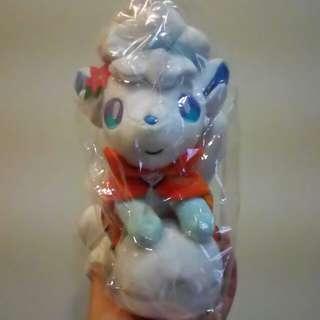 冰六尾娃娃 雪祭限定 神奇寶貝 精靈寶可夢 公仔 玩偶