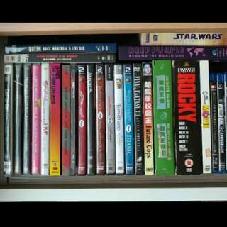 DVD Concerts and Movies for sale