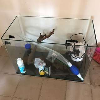 Used FishTank and Accessories
